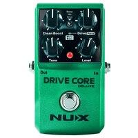 NUX повышен привода Core Deluxe овердрайв для гитары эффекты Блюз педаль овердрайва усилитель привода Гитары педаль