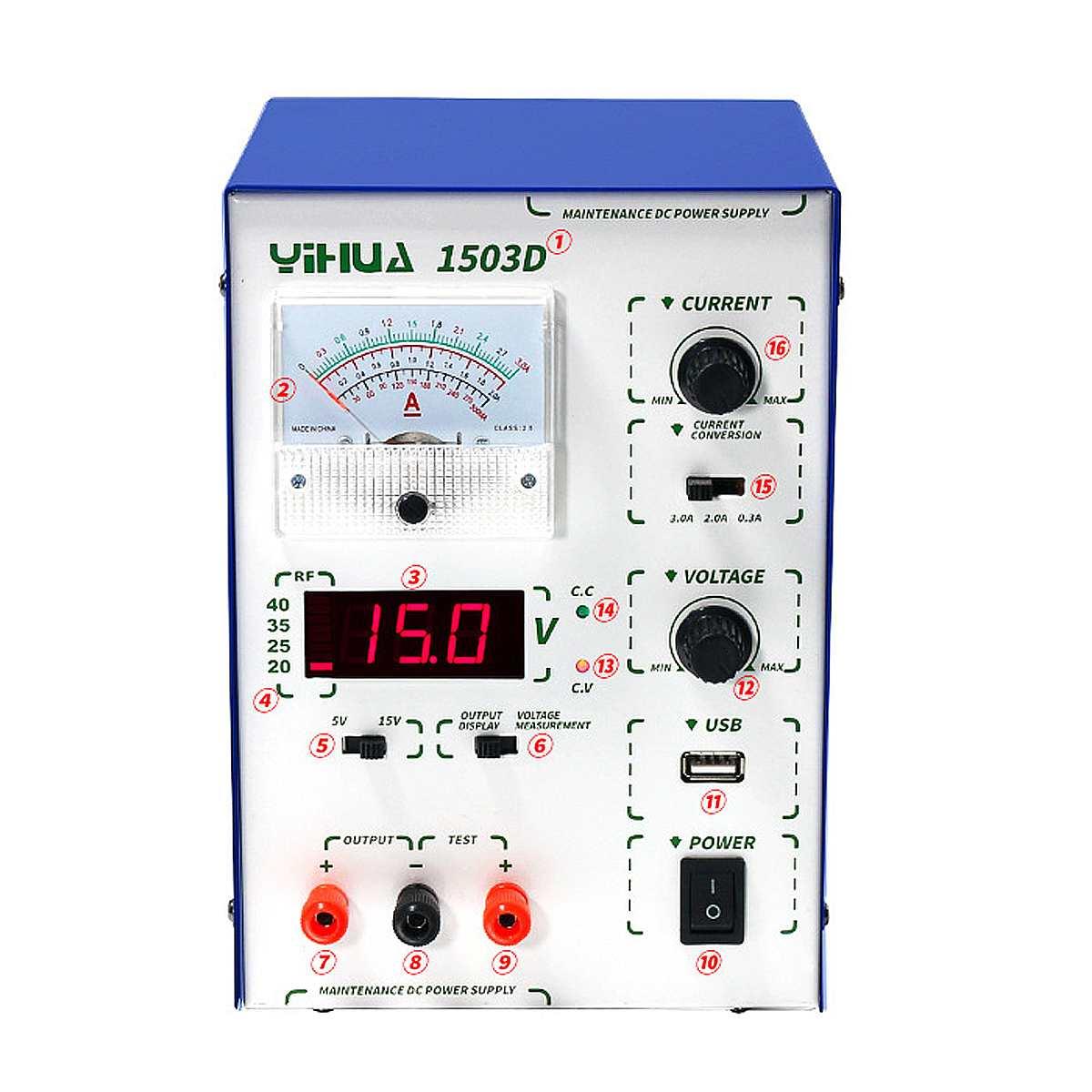 1Pcs 45W Adjustable Digital DC Power Supply Stabilizers Voltage Regulators Power Supply 110V 220V
