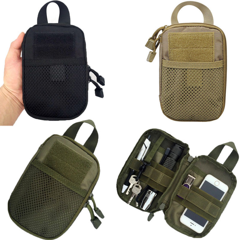 2019 New Brand Fashion Outdoor Tactical Molle Pouch Waist Fanny Pack Belt Phone Case Camping Hiking Bag