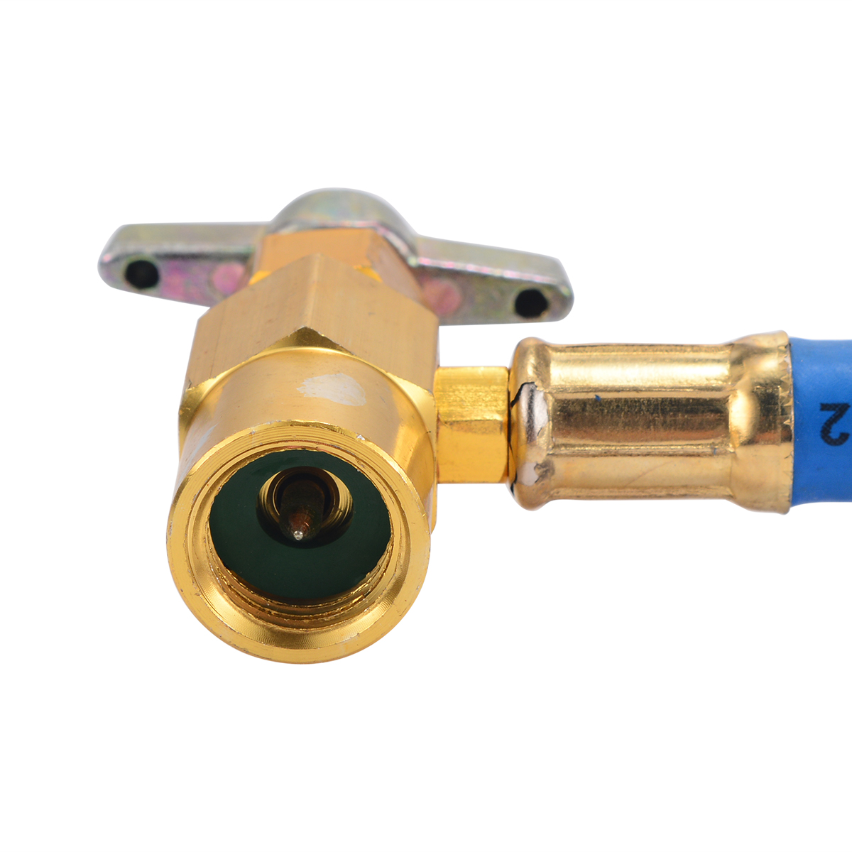 Car Air Conditioning Recharge Hose R134a Recharge Measuring Pipe Hose  Pressure Gauge Adapter A/C Refrigerant Charging Pipe