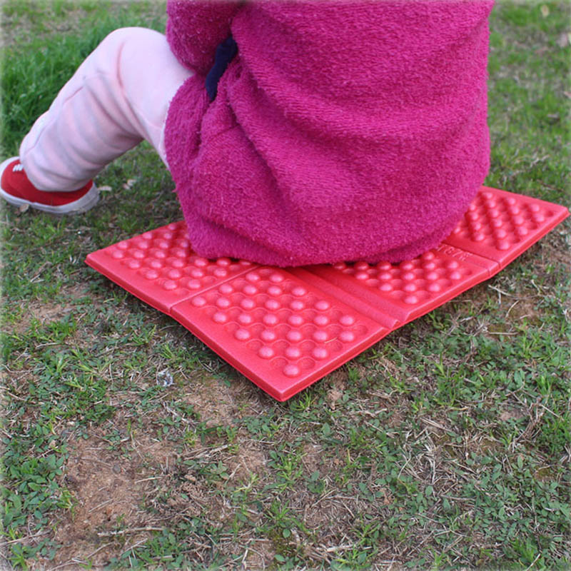 1Pcs Portable XPE Cushion Beach Folding Chair Waterproof Moisture-proof Camping Pad Ultralight Foam Mat Outdoor Accessories