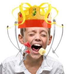 Творческий шляпа Корона пищевой hat вечерние игрушки fun пародия Корона аккуратные шляпа едят шляпа-обманка детей вечерние игрушки