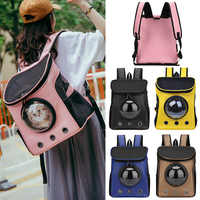 Cats Bag Pet Backpack Cats Space Capsule Dog Out Portable Shoulder Bag Cat Travel Breathable Bag Bicycle Hiking Backpack