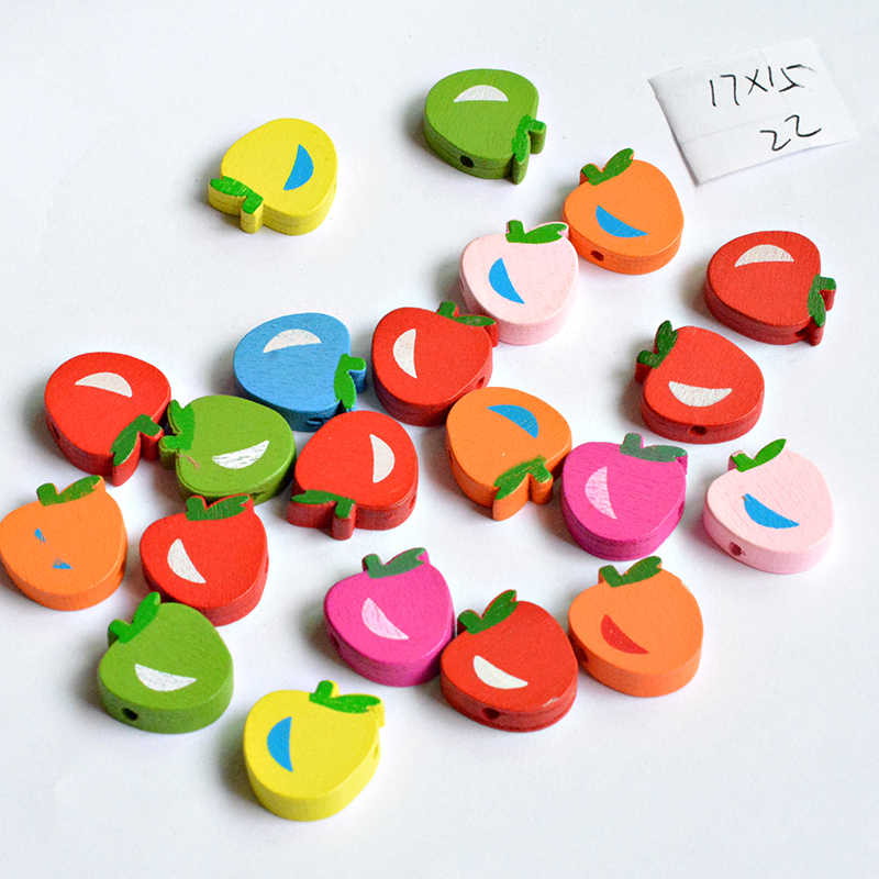 Detail Feedback Questions About Hot Sell Diy Shape Wooden Beads