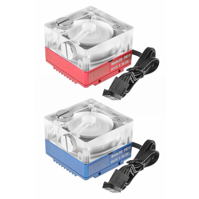 Fans & Cooling Disciplined Vodool Sc-p67b Dc12v Rgb Water Cooled Heat Sink Silent Water Pump Circulating Pump For Computer Pc Water Cooling System To Assure Years Of Trouble-Free Service