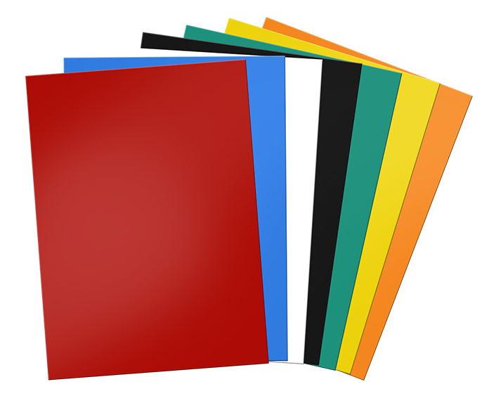 Self adhesive for DIY fridge magnet soft rubber magnetic sheet A4 size 1 mm.5pcs