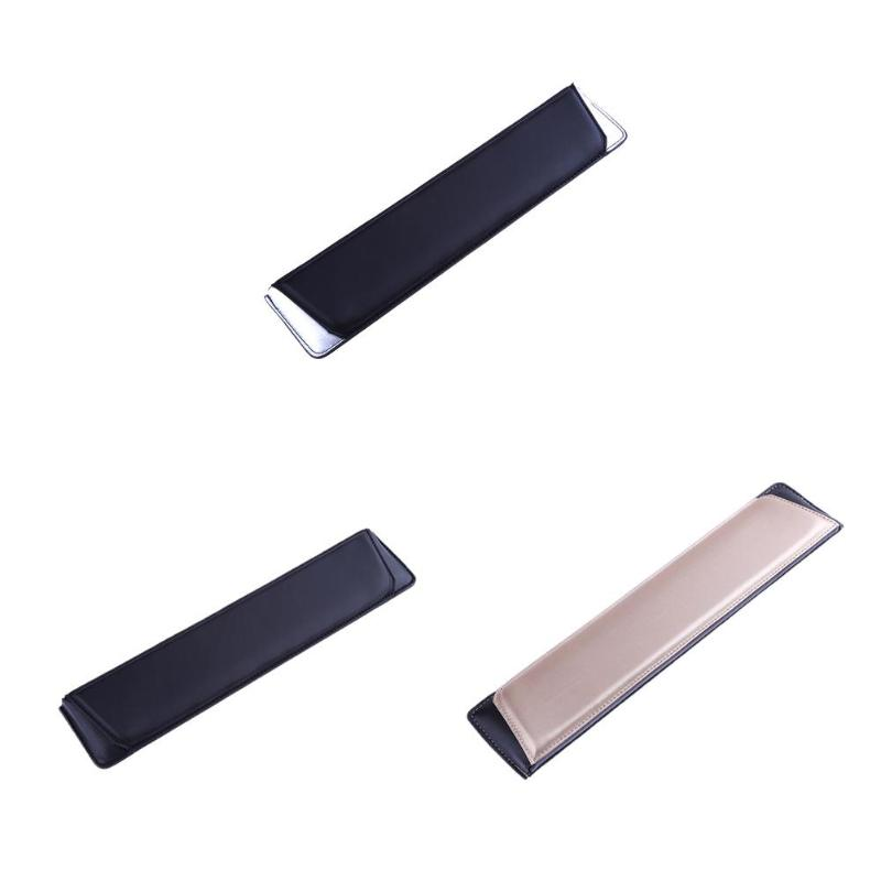 Cheap Sale Slope Leather Wrist Rest Pad Wrist Support Cushion For Keyboard Price Remains Stable Computer & Office