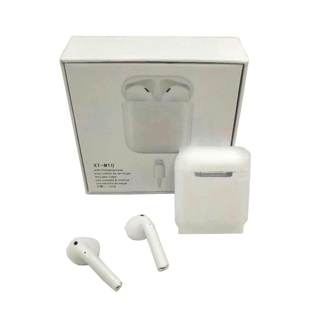 M10 TWS Bluetooth 5.0 écouteurs, oreillettes sans fil Sport Musique Tactile Contrôle Casques mise à niveau par i10 Pour tous les téléphone portable téléphone - 5
