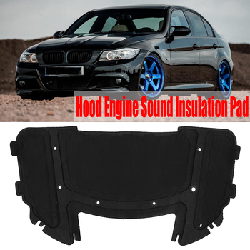 Car Hood Engine Sound Insulation Pad thermal Heat Insulation Pad Mat For BMW E90 E91 E92 E93 323i 325i 51487059260
