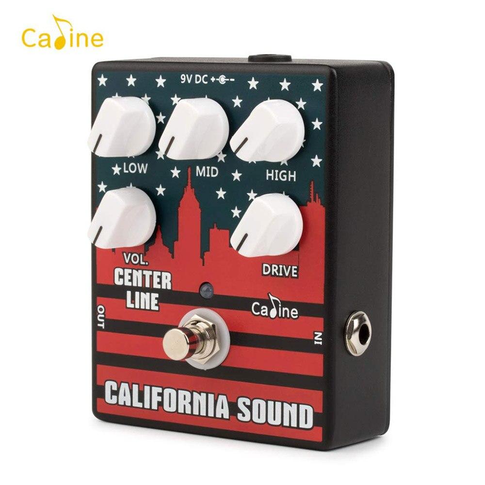 Caline CP 57 High Gain Guitar Pedal Overdrive Distortion Guitar Effect Pedal 3 Band EQ Aluminum