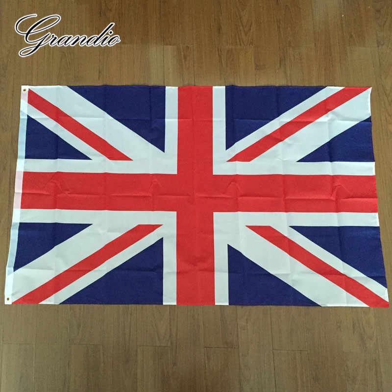 Британский флаг Великобритании Великобритания 90x150 см полиэстер Англия шотландский Америка Великобритании Юнион Джек национальные флаги и растяжки