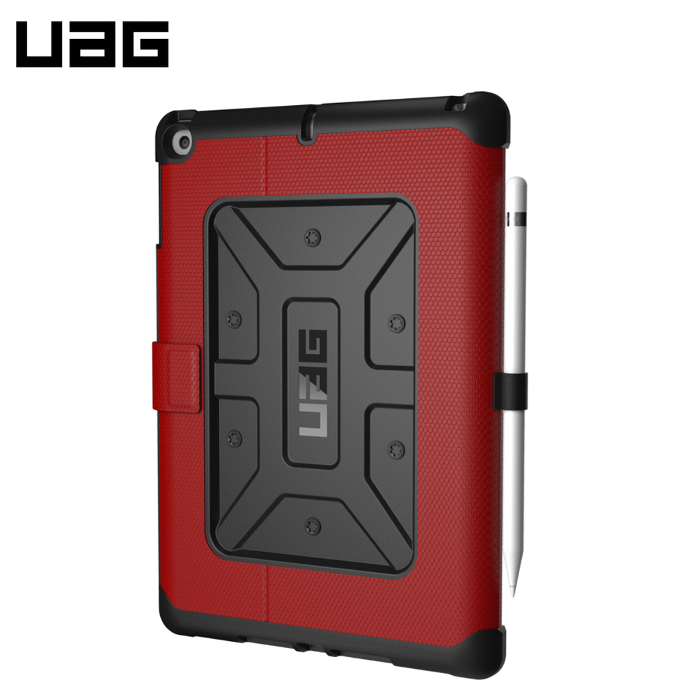 Tablets & e-Books Case UAG ipad cases mini air pro Tablet Accessories for ipad pro 10 5 2017 tablet case genuine leather flip stents dormancy stand cover for funda wallet cases qialino