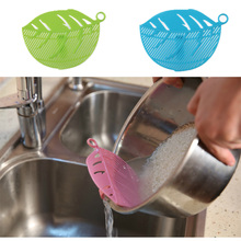1Pc Leaf Shaped Rice Wash Gadget Noodles Spaghetti Beans Colanders & Strainers Kitchen Fruit&Vegetable Cleaning Tool