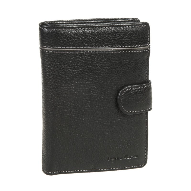 Coin Purse with business genuine leather men s short wallets with coin pocket vintage hasp design fashion brand quality purse for man or women