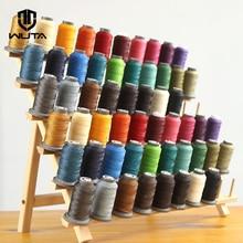 WUTA 90 м кожаная швейная круглая вощеная нить 0,55 мм полиэфирная ручная швейная линия инструмент для кожевенного ремесла, экономичная международная