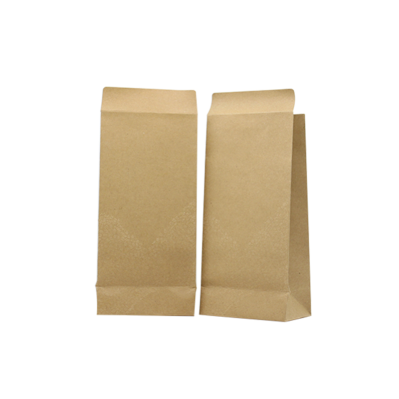 Us 2 36 50 Off Xin Jia Yi Packaging Kraft Paper Bags With Handles High Quality 250g Bag Roll Edge Food Contanier Large Size On