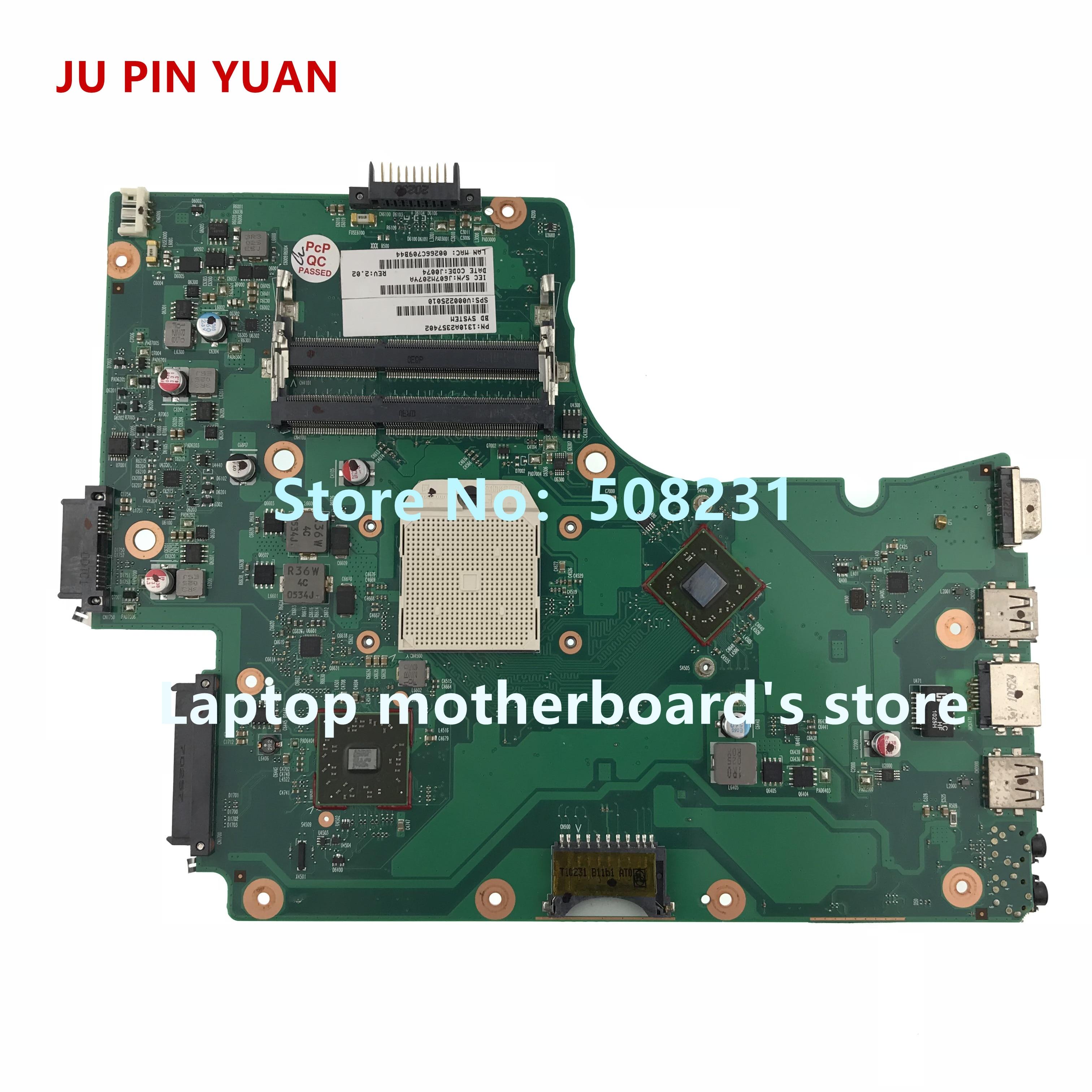 JU PIN YUANS V000225010 carte mère Pour Toshiba Satellite C650D C655D mère d'ordinateur portable 6050A2357401-MB-A02