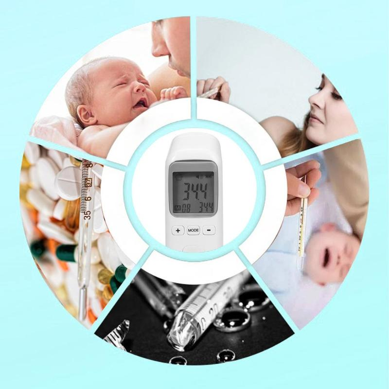 Digital Baby Forehead Thermometer Non contact Body Care Fever Temperature Measurement in Thermometers from Mother Kids