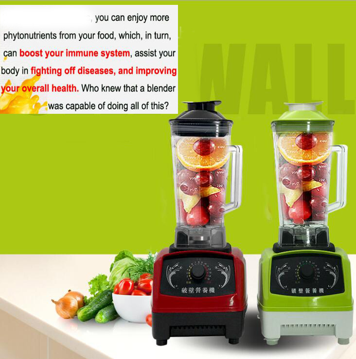 professional Blender EU/US/UK/AU Plug GERMAN Original Motor, smoothies juicer, Food Processor with BPA FREE Blender Jar máy xay sinh tố của đức