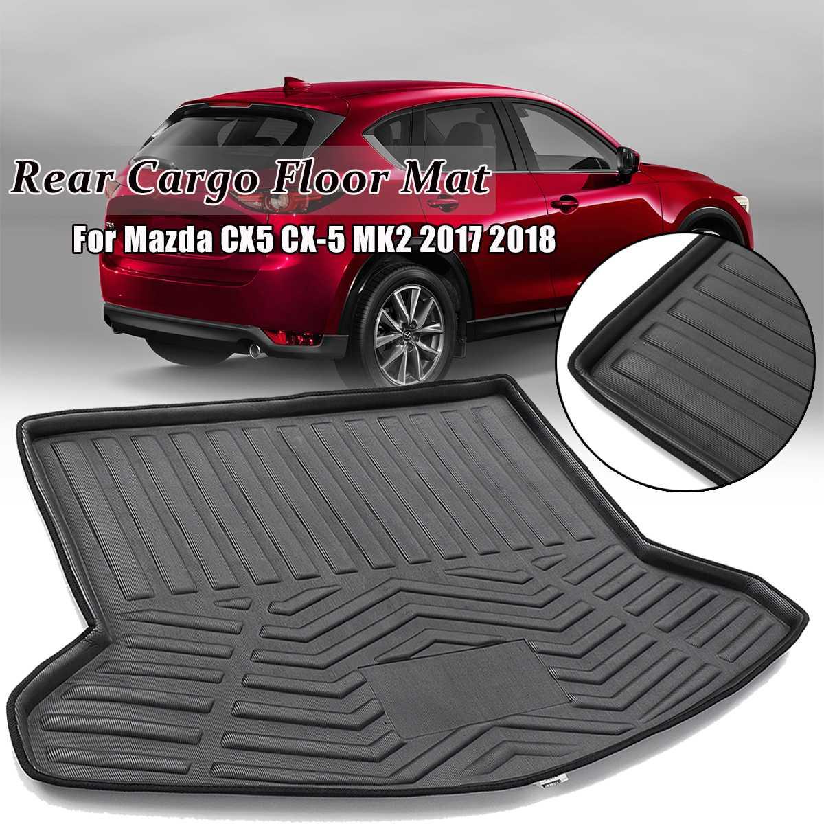 1pcs Car Rear Boot Liner Trunk Cargo Mat Tray For Mazda CX-5 CX5 MK2 2017 2018 Floor Carpet Mud Pad Protector1pcs Car Rear Boot Liner Trunk Cargo Mat Tray For Mazda CX-5 CX5 MK2 2017 2018 Floor Carpet Mud Pad Protector