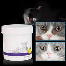 Adeeing 100 шт влажная ткань для домашних животных котенок щенок собака глаз Нежное очищение