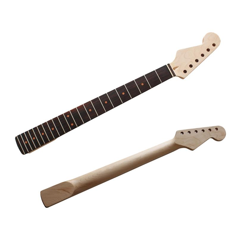22 Fret Guitar Neck Left Hand Replacement Maple Neck Rosewood Fingerboard for ST Electric Guitar Accessory