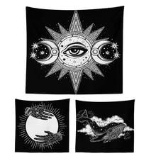 150x150cm Polyester Tapestry Mandala Bohemia Wall Hanging Animal Moon Wolf Guns Yoga Mats Beach Towel Decor Livingroom