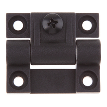 1.65 x 1.42 Inch 4 Countersunk Holes Adjustable Torque Position Control Hinge Black Door Hinges Replace For Southco E6 10 301 20
