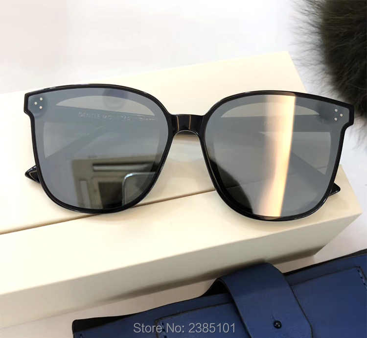 8b26ab118 ... 2019 Gentle FLATBA Jack bye Designer ladies sunglasses Mirror sun  glasses Vintage Female oculos flat lens ...