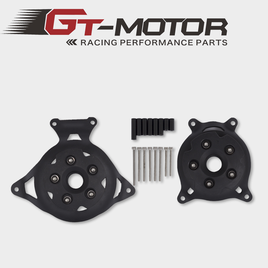 Motorcycle Stator Cover Engine Guard Protection Side Shield Protector For Kawasaki Z750 Z800 2013 2017