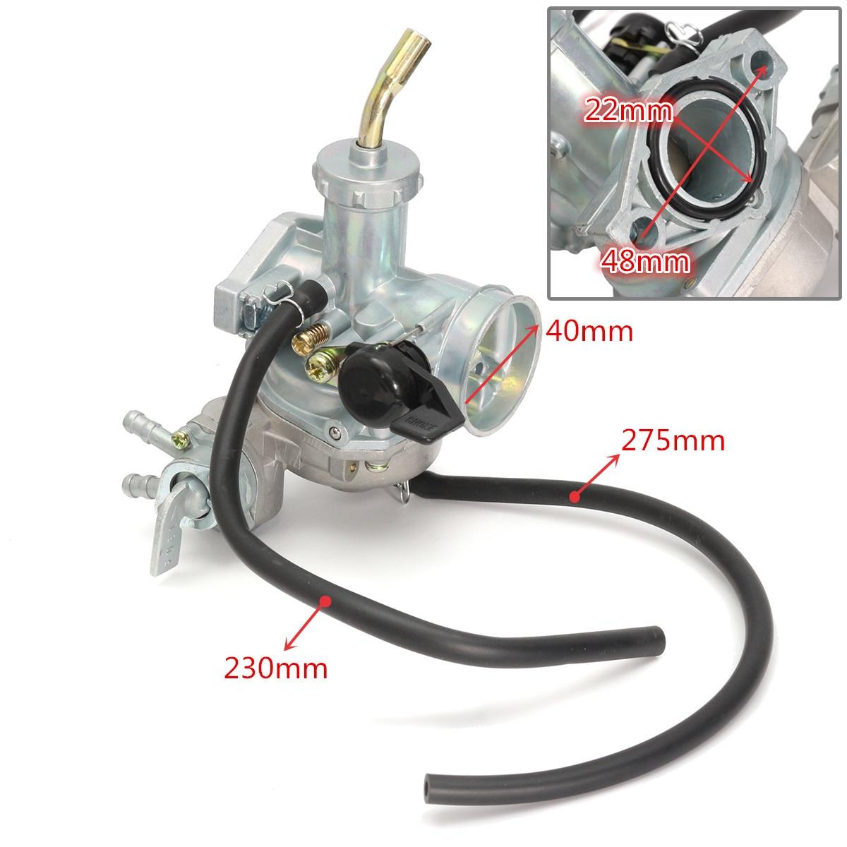Carb Carburetor & Throttle Cable For Honda ATV ATC 70 90 110 125 TRX125 C02220Carb Carburetor & Throttle Cable For Honda ATV ATC 70 90 110 125 TRX125 C02220
