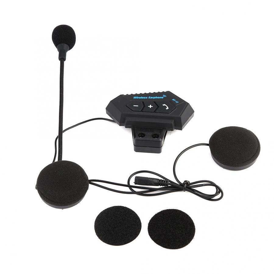 Motorcycle-Helmet Headphone Speakers-Support Calling Answering Hands-Free for Rejecting title=