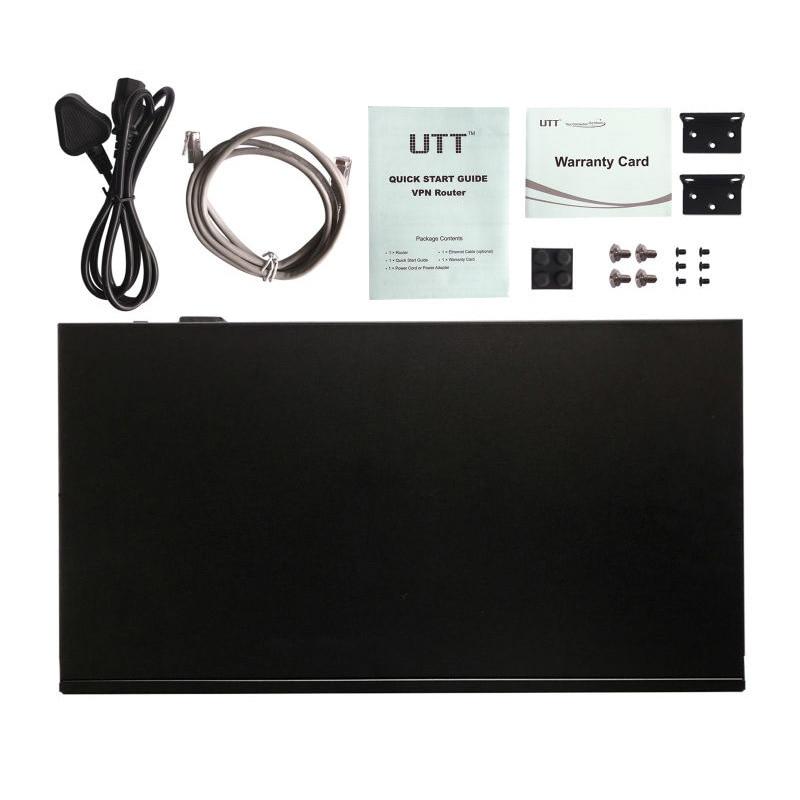 UTT ER4240G Gigabit VPN Router Enterprise-Class Security gateway/Dual WAN Multi WAN/Load Balance/Failover/ QoS PPPoE Server, NAT 6