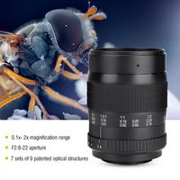 60mm F2.8 Manual Focus Full Frame Camera Prime Macro Lens for DSLR For Canon E F mount, For Nikon F mount
