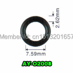 50sets For Subaru Fuel Injector Repair Service kit for oem 16600-AA170 for  2003-06 EJ255 and EJ257 2 0 and 2 5L
