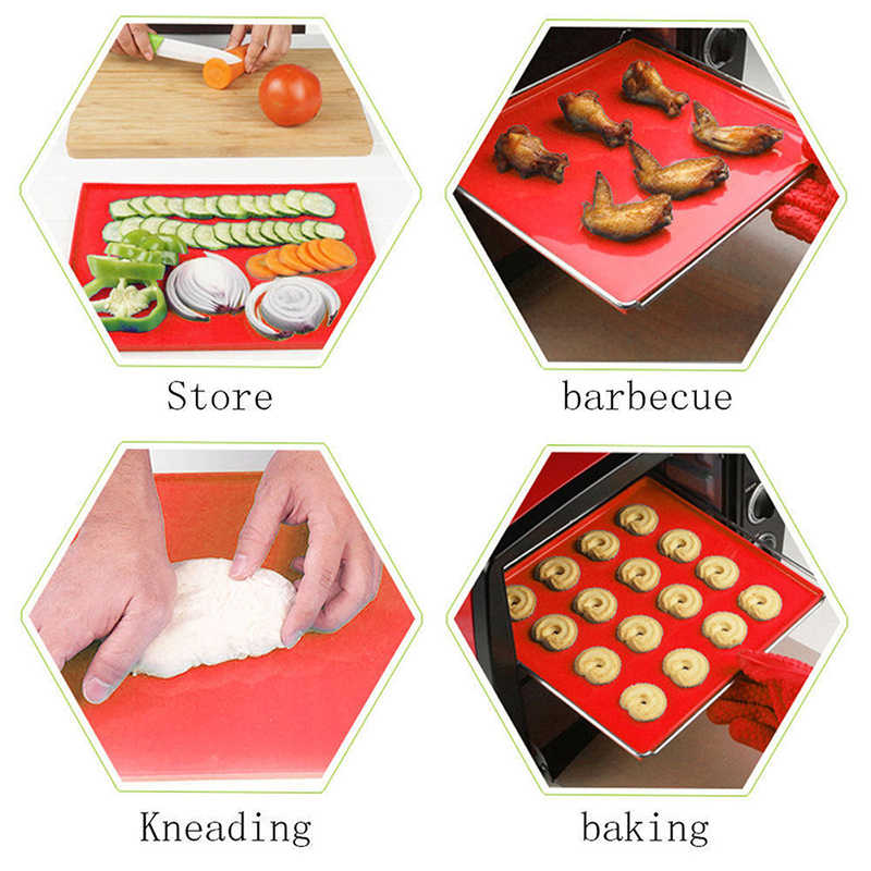 シリコーンパッドスイスケーキロール機能ベーキングノンスティックシリコーンオーブンマットケーキロールパッドベーキングツール