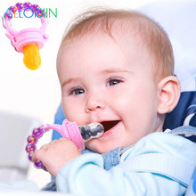2019 Fresh Fruit Food Kids Nipple Feeding Safe Milk Feeder Baby Pacifier Bottles Teat Nibbler feeding feedkid