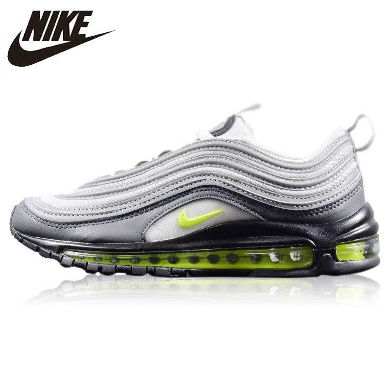 Nike Air Max 97 Neon nouveauté Original chaussures de course pour hommes résistant à l'usure coussin antidérapant respirant baskets #921733-003