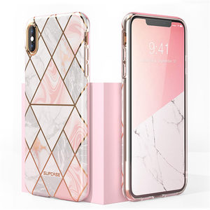 Image 5 - Voor iphone Xs Max Case SUPCASE UB Metro Premium Slim Soft TPU Case Plated Marmer Clear Protective Back Cover Voor iphone X & XS