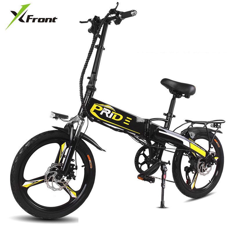 Roller Mini Falten Roller E-bike Tragbare Faltbare Elektrische Fahrrad Fahrrad Bürstenlosen Motor Lithium-batterie Leichte