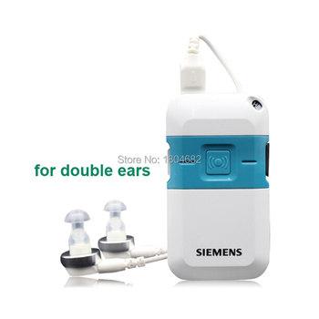Przenośne aparaty słuchowe Mini aparaty słuchowe regulacja tonów aparaty słuchowe małe w kieszeni ucha najlepszy wzmacniacz dźwięku narzędzia do pielęgnacji uszu tanie i dobre opinie SIEMENS