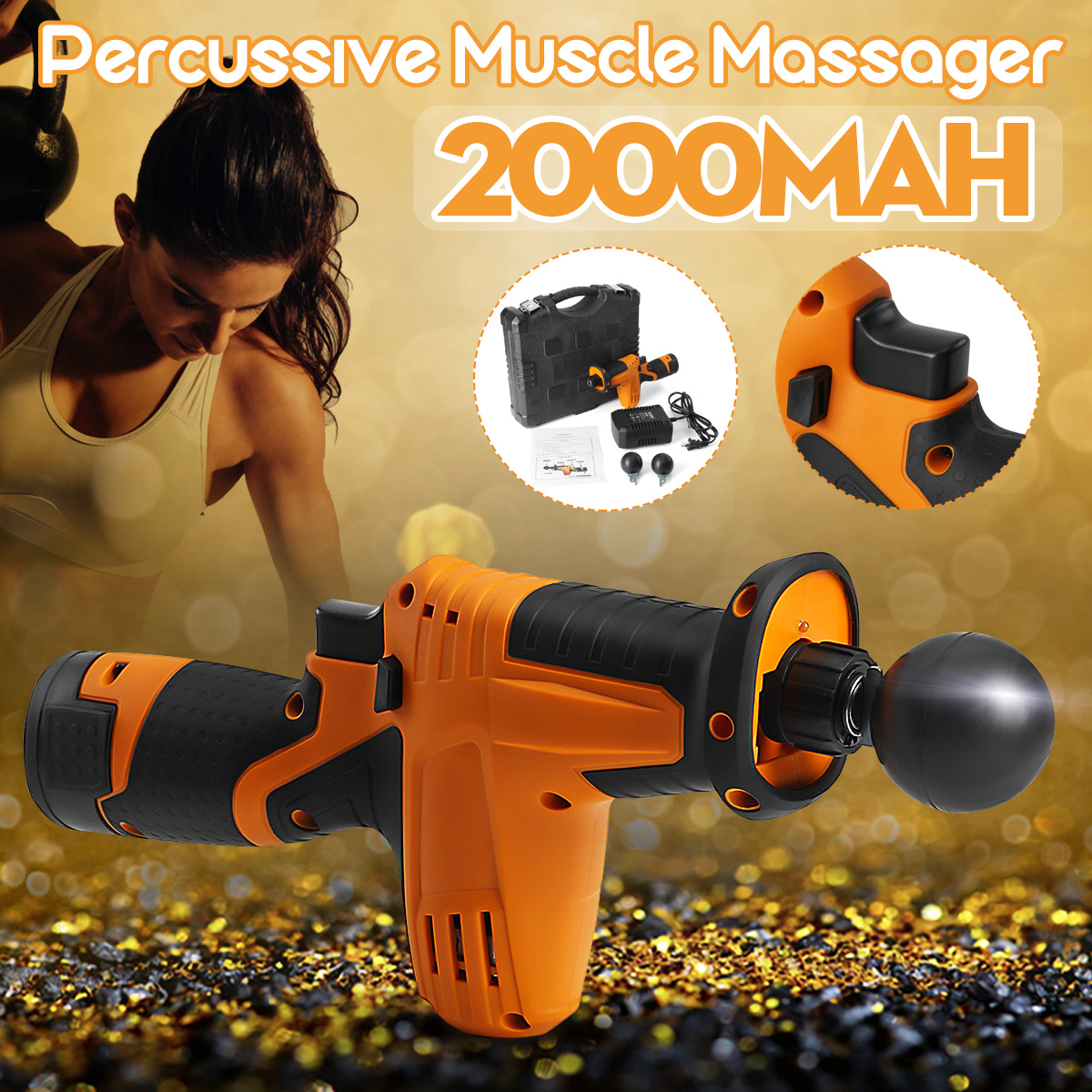 Professional Electric Deep Muscle Massage for Gun Relaxation Body Vibrating Massager Exercising Muscle Pain Relief Body SlimmingProfessional Electric Deep Muscle Massage for Gun Relaxation Body Vibrating Massager Exercising Muscle Pain Relief Body Slimming