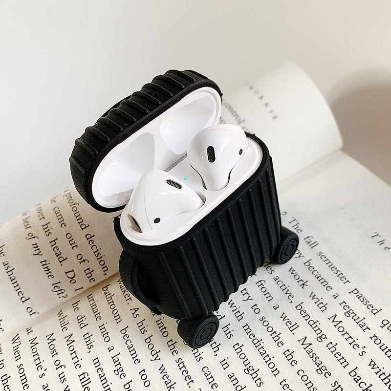 VOZRO Wireless Bluetooth Earphone Case For Apple AirPods Silicone Charging Headphones Cases For Airpods Protective Cover