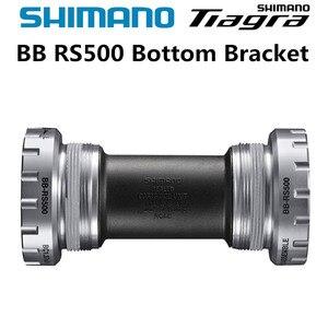 Shimano TIAGRA SORA SM-BB-RS500 Hollowtech II Road Bicycles Bottom Bracket 68mm RS500 4700 R3000 ROAD Bike Bottom Bracket(China)