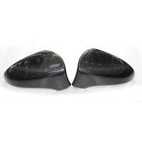 Car Carbon Fiber Wing Rearview Mirror Cover Caps Trim Fit For Lexus ES IS250 IS300 GS Left Hand Drive