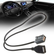 цены Brand New AUX USB Cable Adapter MP3 File Adapter Wire For Honda Civic Jazz CR-V A-ccord CR-Z 2008 O-nward