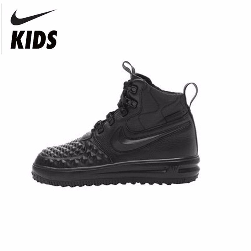 competitive price a53dc e0fc4 Nike Kids Winter Children s Shoes Boys And Girls Motion Keep Warm  Comfortable Snowfield Boots  922807-in Boots from Mother   Kids on  Aliexpress.com ...