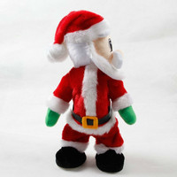 Cute Creative Twisted Hip Music Santa Doll Toy Dancing Doll Christmas Decor Gift Christmas Decoration Ornaments