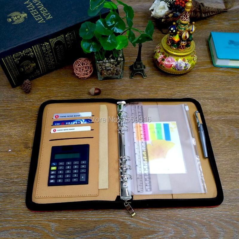 Great Källa 2019 planerare A5 notebook dagordning med kalkylator med - Block och anteckningsböcker - Foto 4