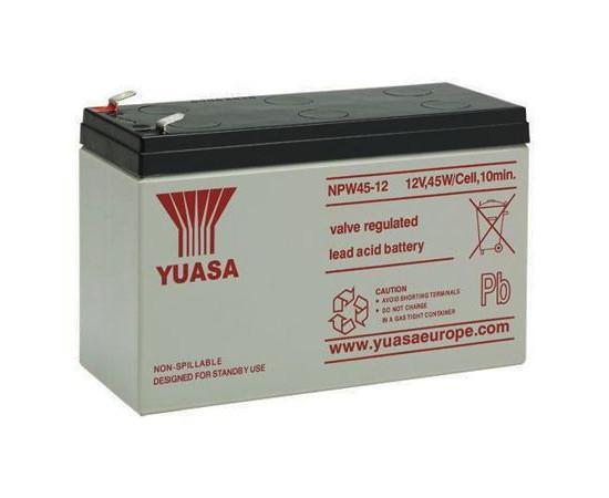 AGM bateria de Chumbo de 12 v 8.5Ah das Medidas 151x65x97.5mm Npw45 12|null| |  - title=